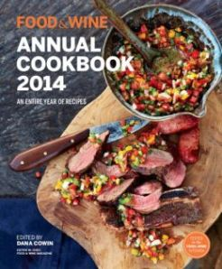 food and wine 2014 cookbook